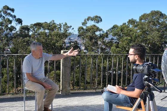 Filmación do documental Reboiras en Vigo