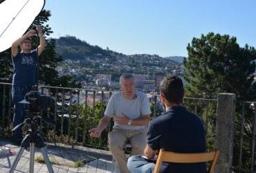 A rodaxe do filme documental sobre Moncho Reboiras chega a Vigo