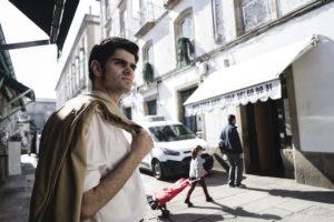 Moncho Reboiras é interpretado por Daniel Celester