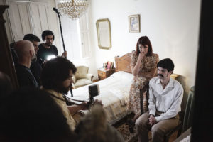 Mosquera e Celester na rodaxe